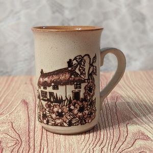 Vintage decorative Mug by Ashdale Pottery Made in